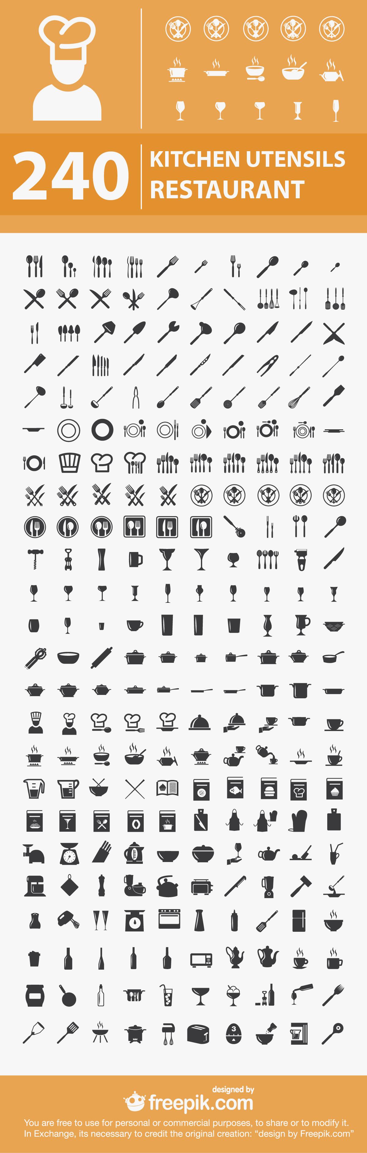 Kitchen-restaurant-utensils