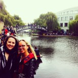 with Erica in Camden Market
