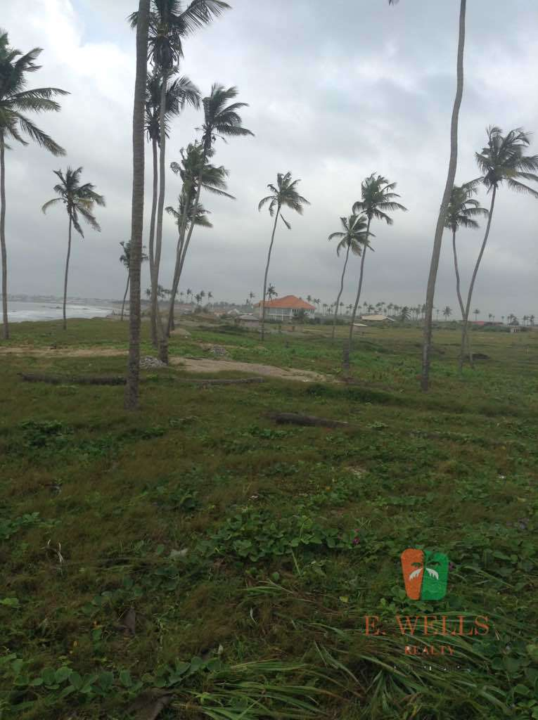 Beachfront Land For Sale in Prampram