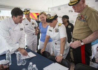 Ewell Smith reviews the rules for the 2015 Nola Navy Seafood Cook Off