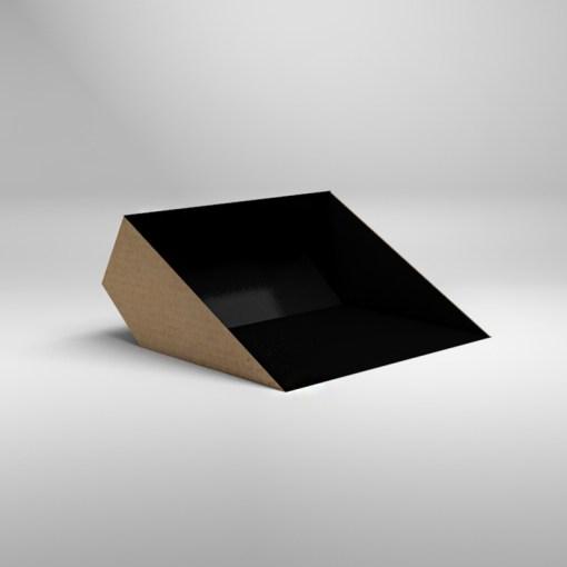 Bigbelly inlägg inkast av papp, svart 20 pack