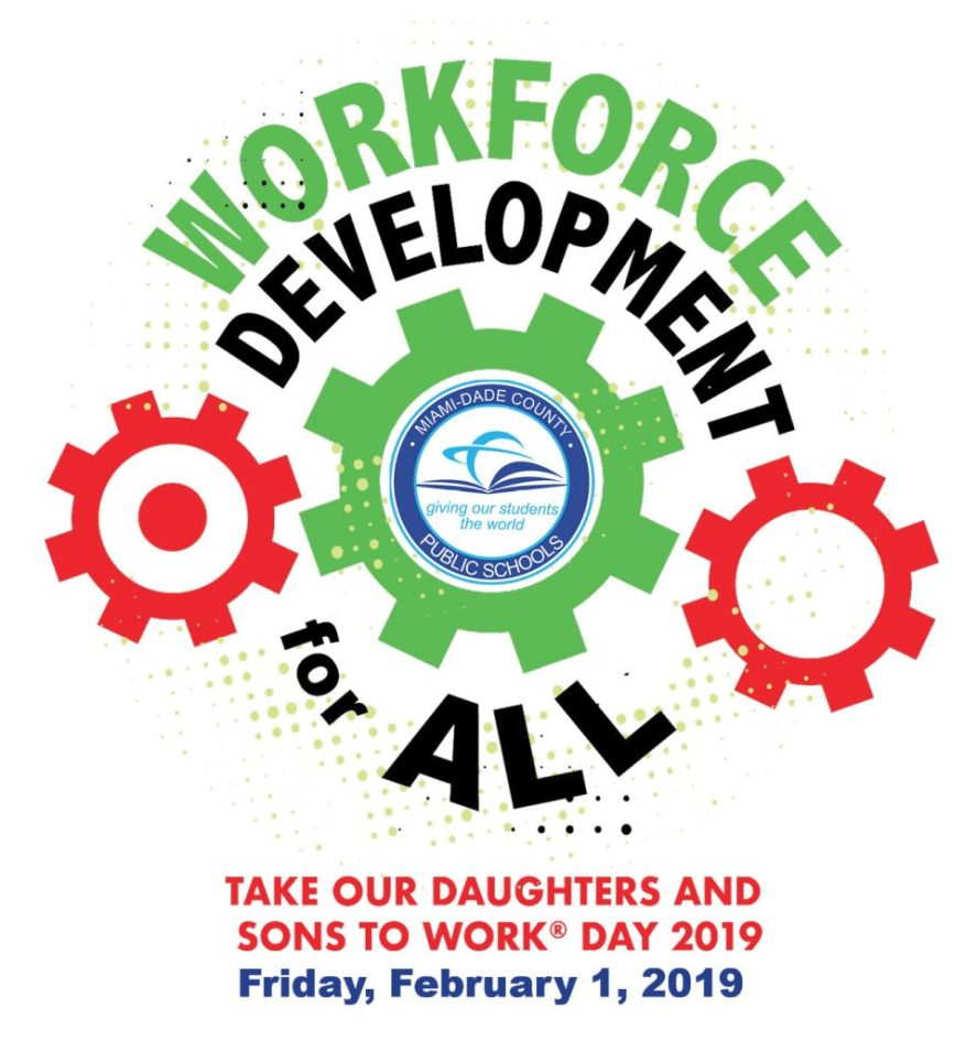Take Our Daughters and Sons to Work Day 2019 Logo