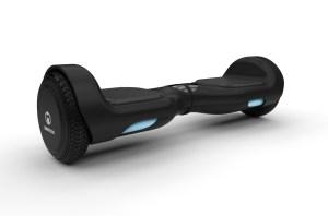 E-Balance-Hoverboard H1 black LED Isometrisch