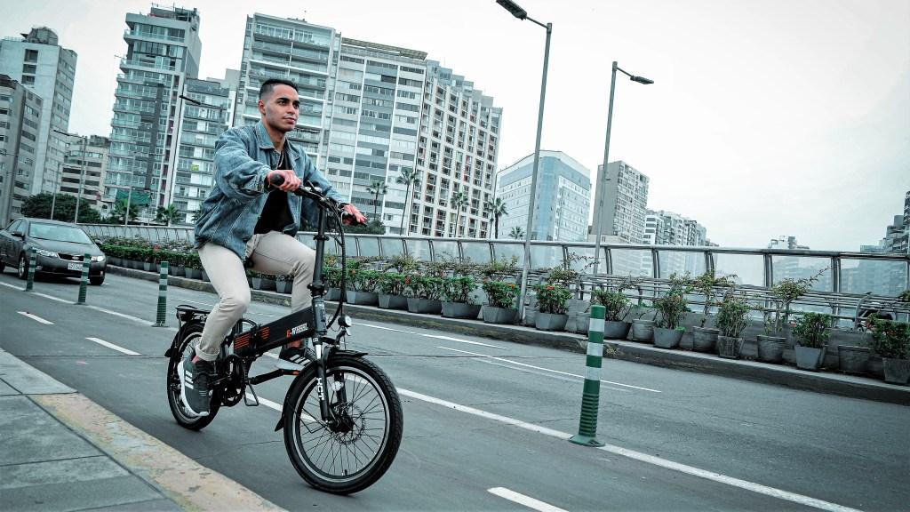 bicicleta electrica Leed