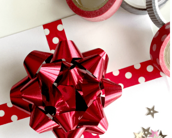 quick christmas gift wrap ideas