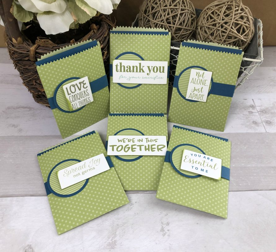 COVID greeting cards