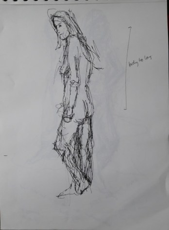 Fig. 3. 5 minutes. drawing pen
