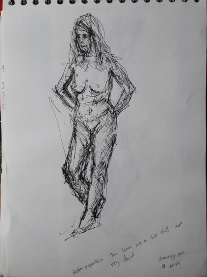 Fig. 7 10 minutes. drawing pen