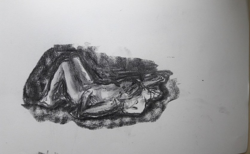 Fig. 9. 10 minutes. charcoal