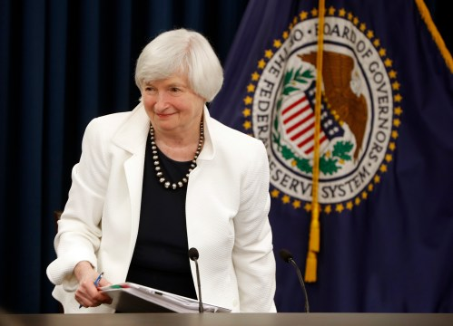 Fed leaves key rate unchanged at Yellen's final meeting