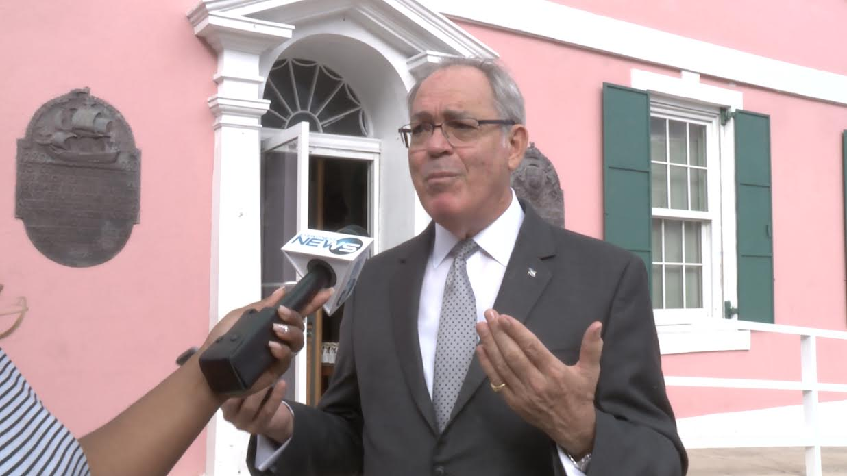 """Symonette: """"My children's trust"""" are shareholders in Bahamas Hot Mix"""