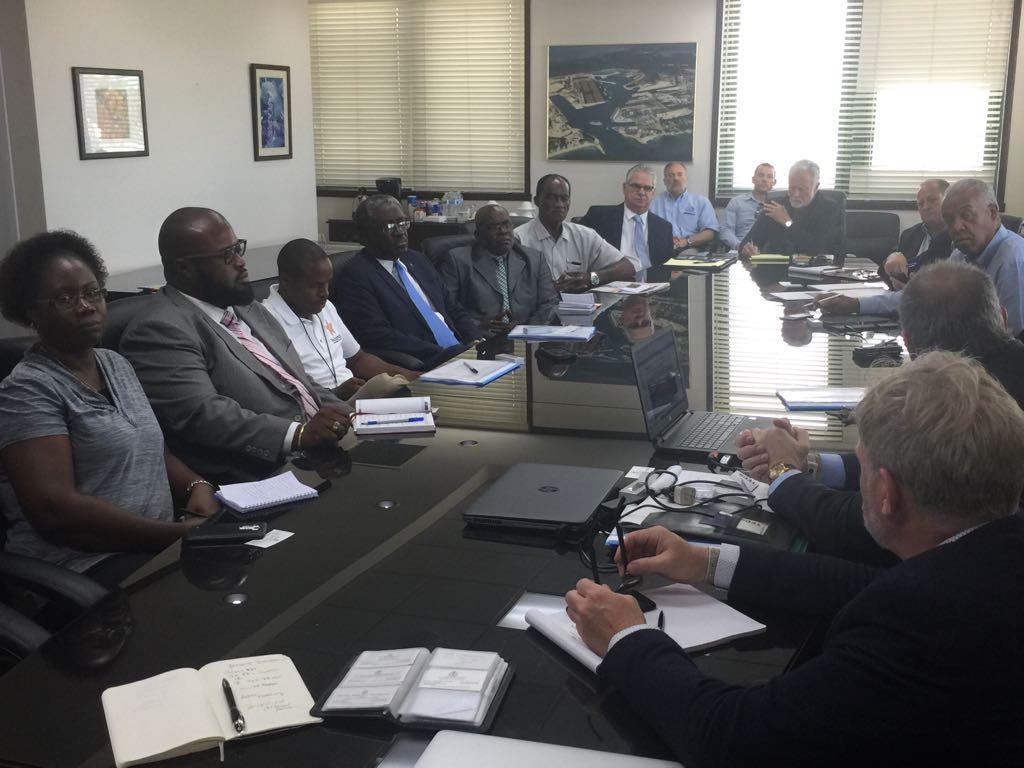 Oban Energies begins meetings in Grand Bahama