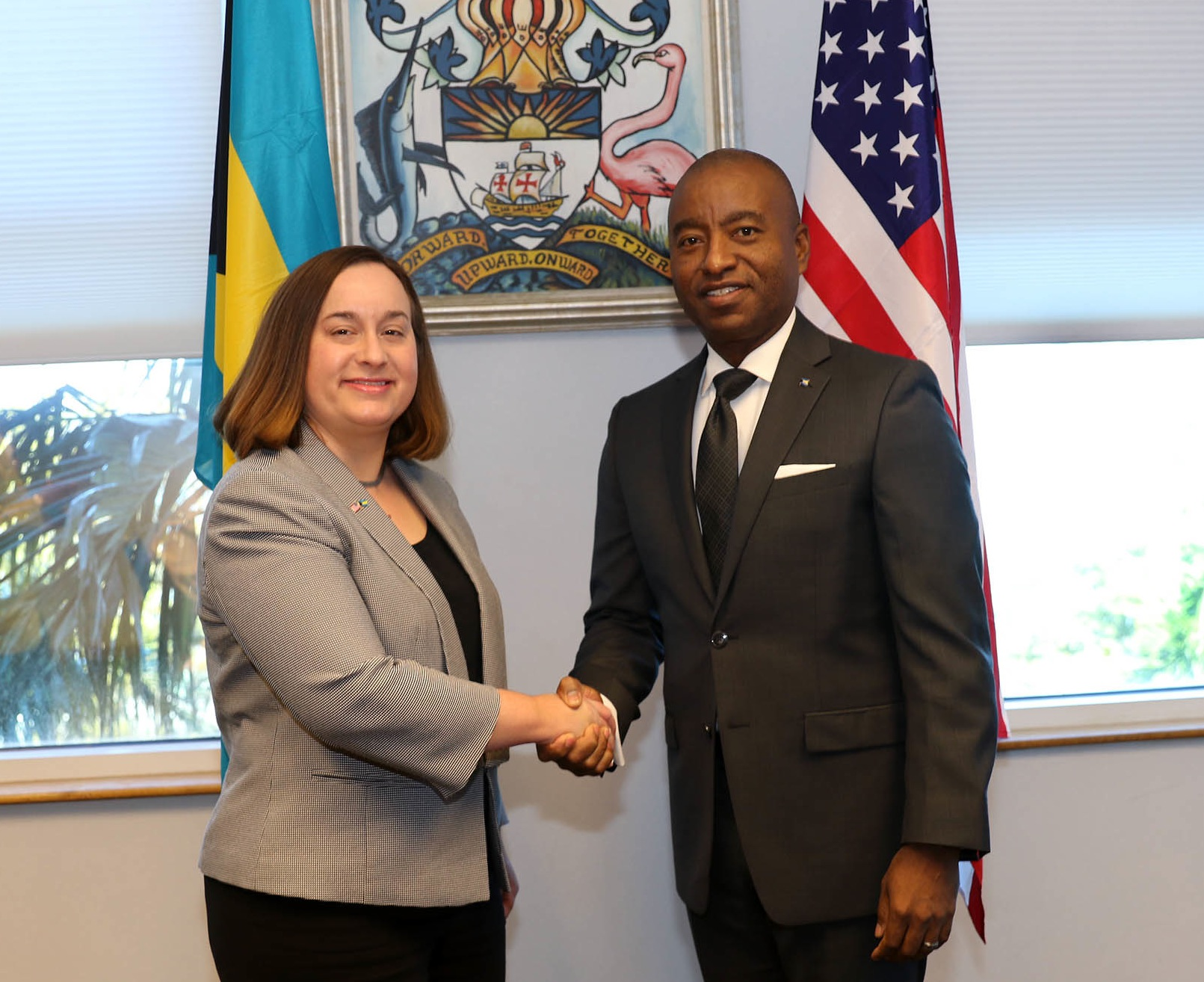 U.S. Embassy gets new Charge d'Affaires