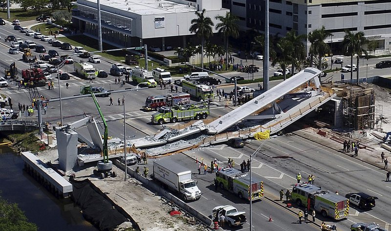 4 confirmed dead after FIU bridge collapses
