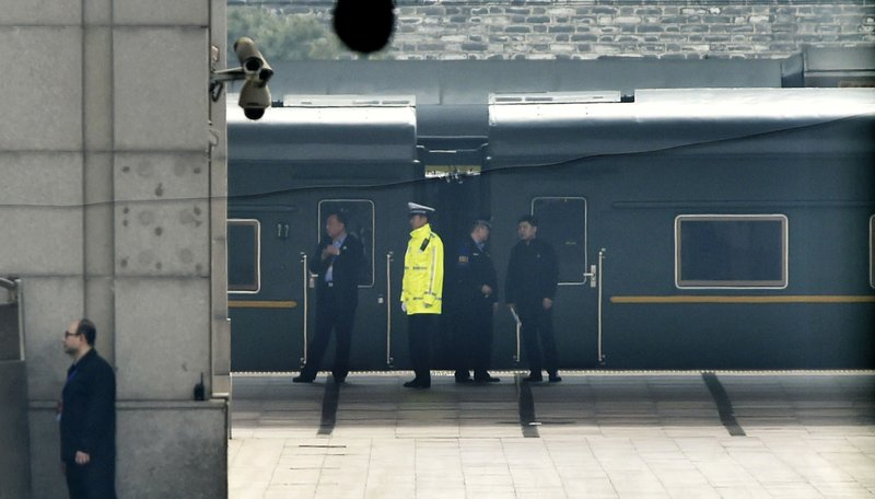 Mysterious train sparks speculation of Kim visit to Beijing