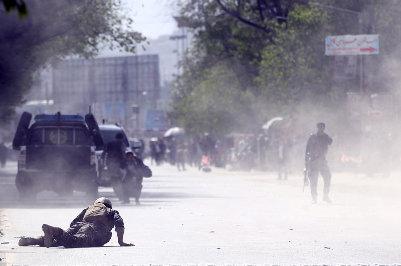 Double Kabul suicide bombing kills 25, including 9 reporters