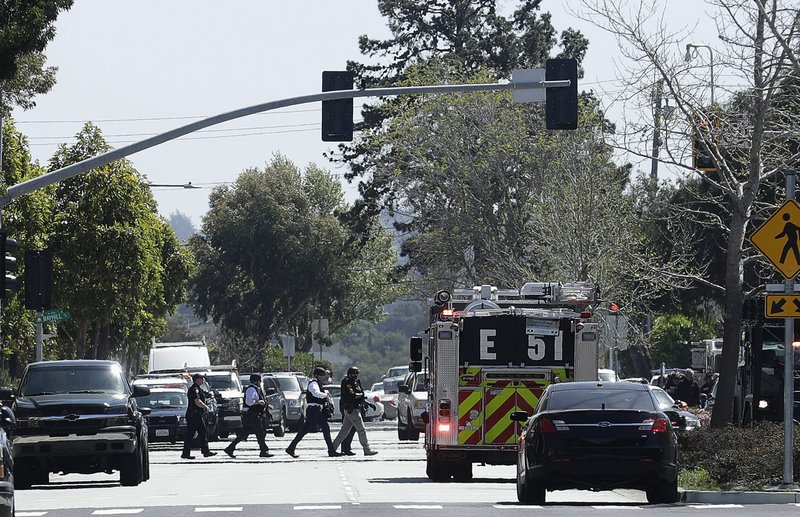 Authorities respond to shooting at YouTube headquarters