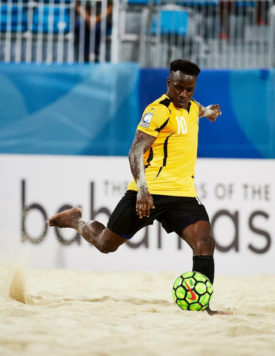 Bahamas finishes beach soccer challenge fourth overall