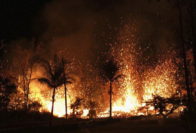 Hawaii volcano destroys dozens of homes, forces evacuations