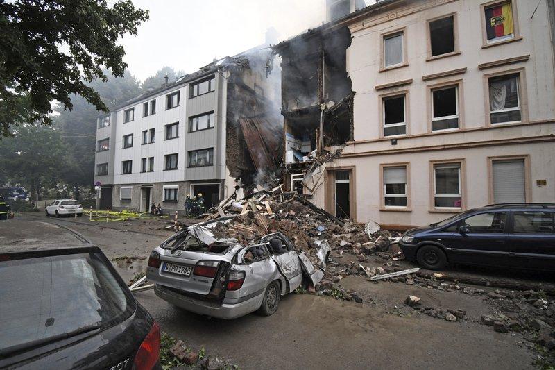 Police: 25 injured in building explosion in Germany