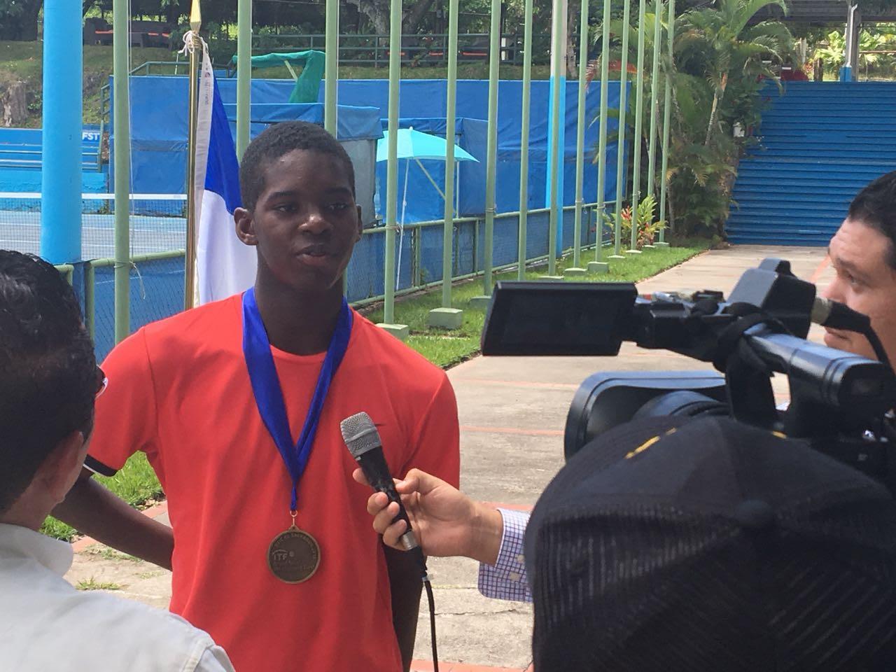 Bain wins JITIC U-16 tournament