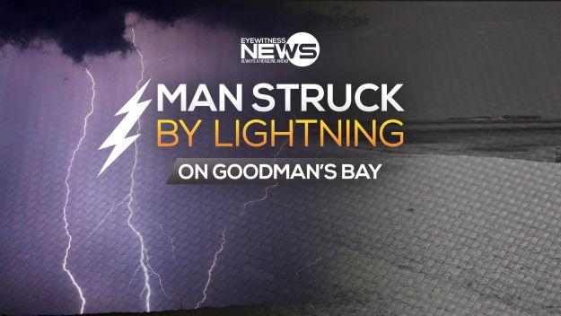 Lightning bolt kills wedding decorator