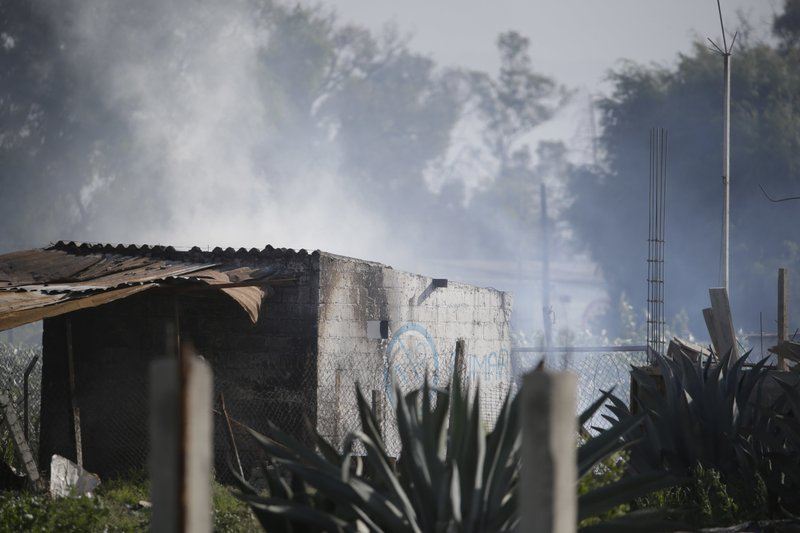 24 die in Mexico town where fireworks disasters are common