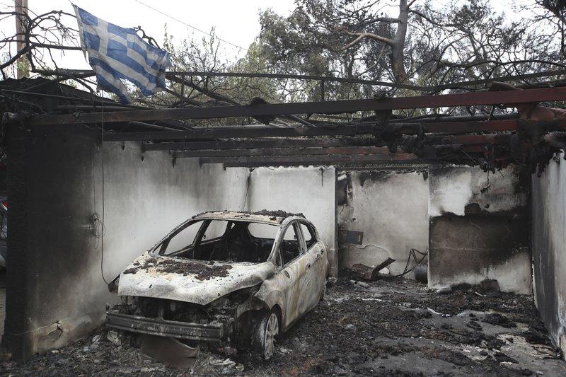 Greek wildfires kill 74, the deadliest blaze in decades