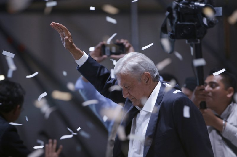 Mexico gives leftist Lopez Obrador big presidential win