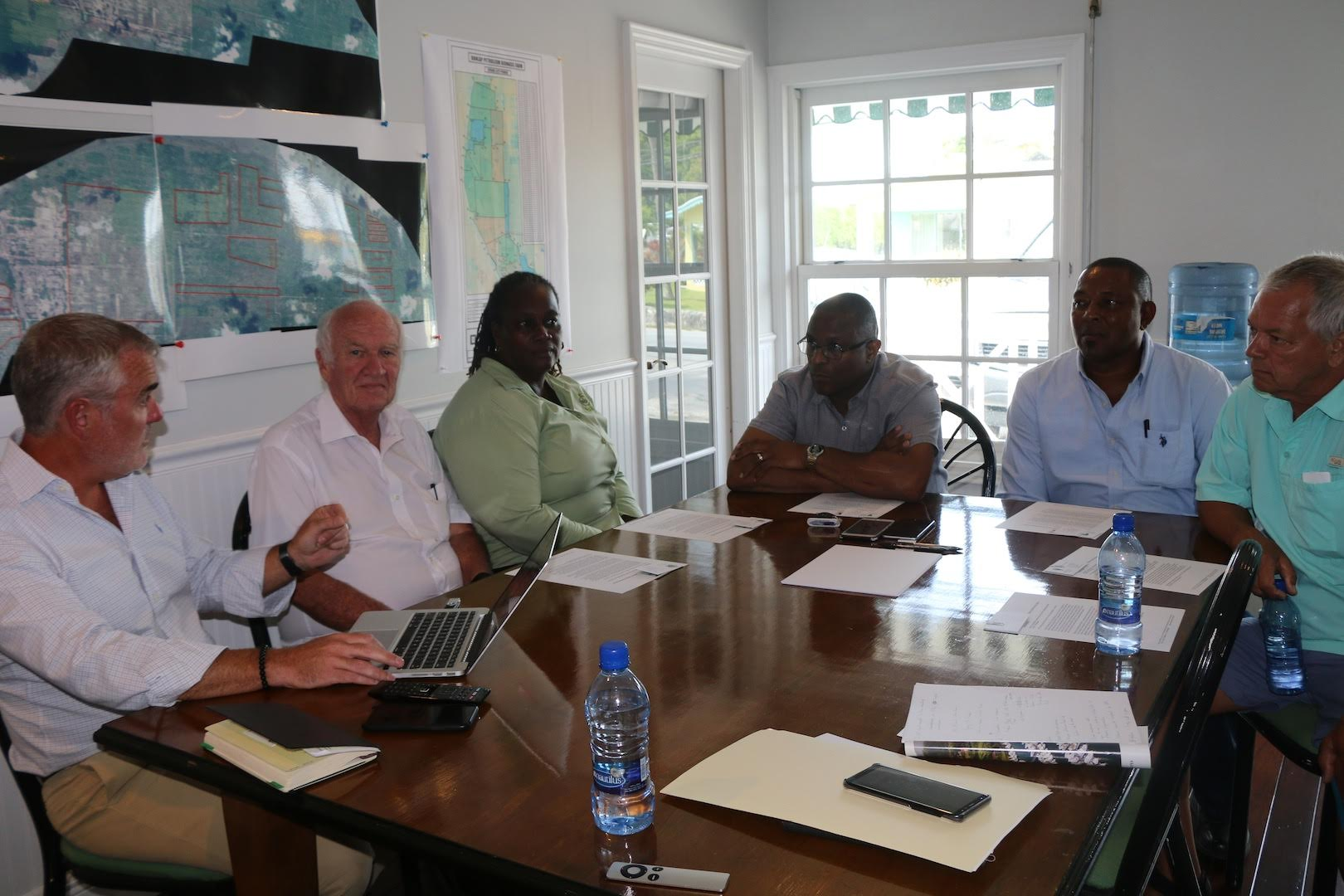 Pintard reviews opportunity for biomass plant on Abaco