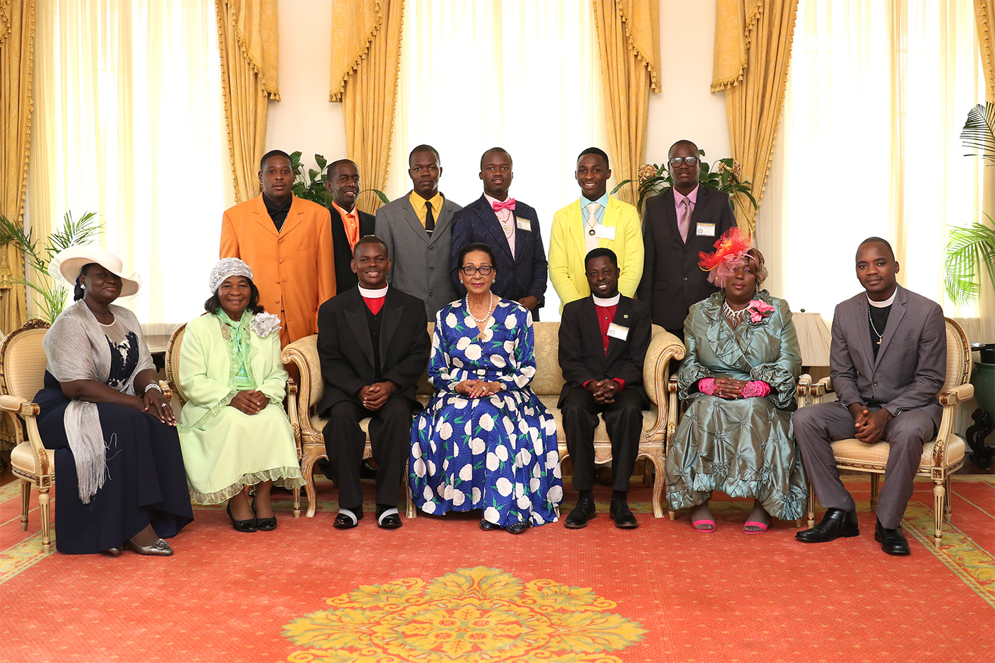 Christian Tabernacle Fellowship ambassadors pay courtesy call on Governor General