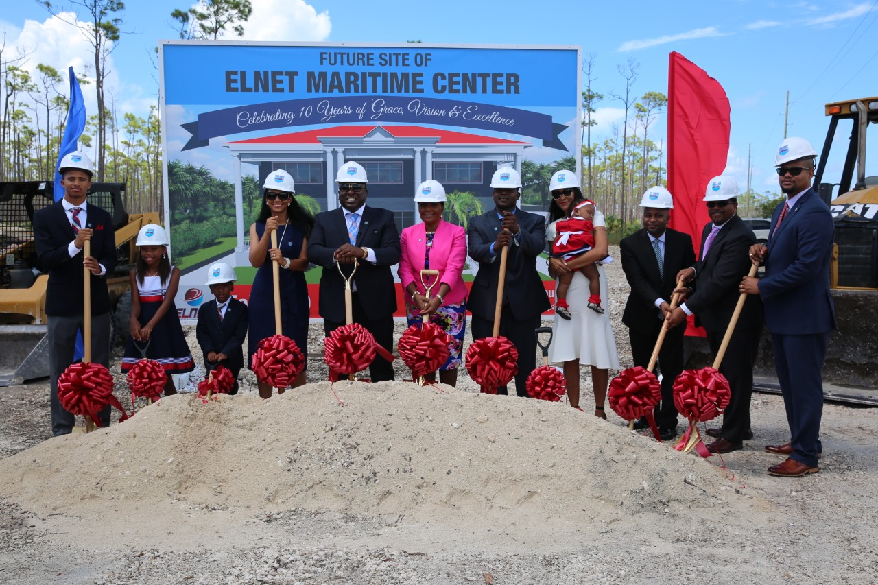 Elnet Maritime Breaks Ground for New Center in Grand Bahama