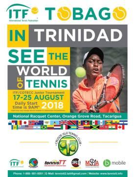 Clarke, Armbrister compete in junior tennis tournament