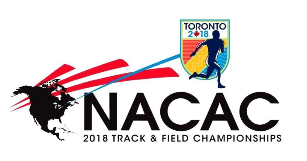 Men's 4×400 team/Thomas medal at NACAC Championships