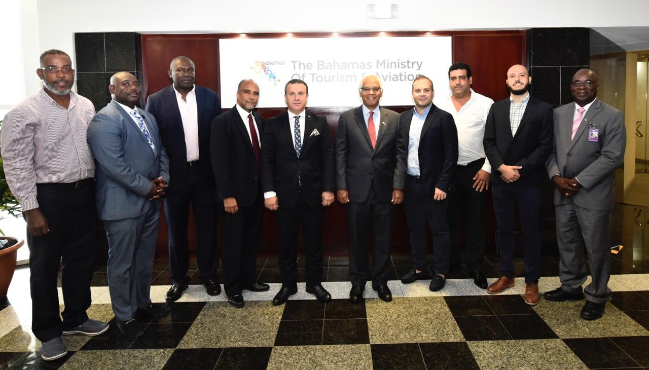 Tourism minister meets with Turkish Airlines and Nassau Flight Services