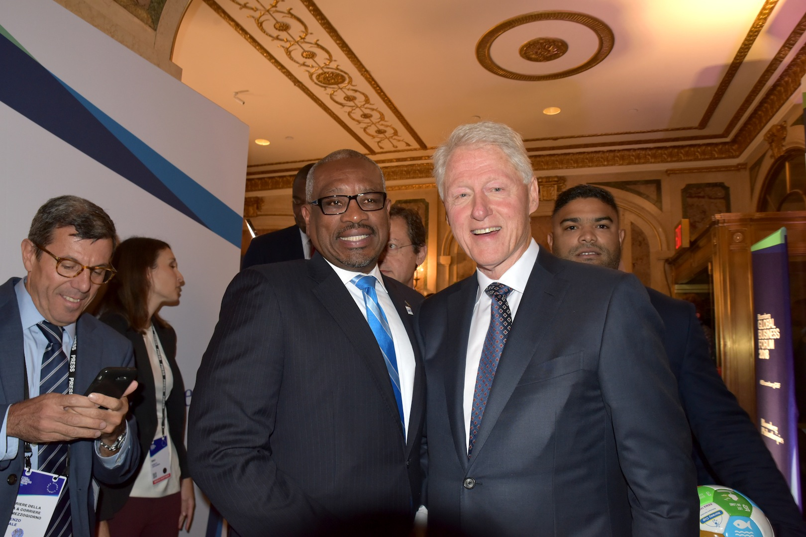 PM attends Bloomberg Global Business Forum in NY