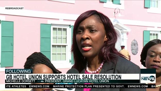 GB hotel union supports resolution