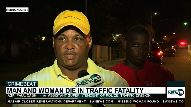 2 dead in freak traffic accident with marine