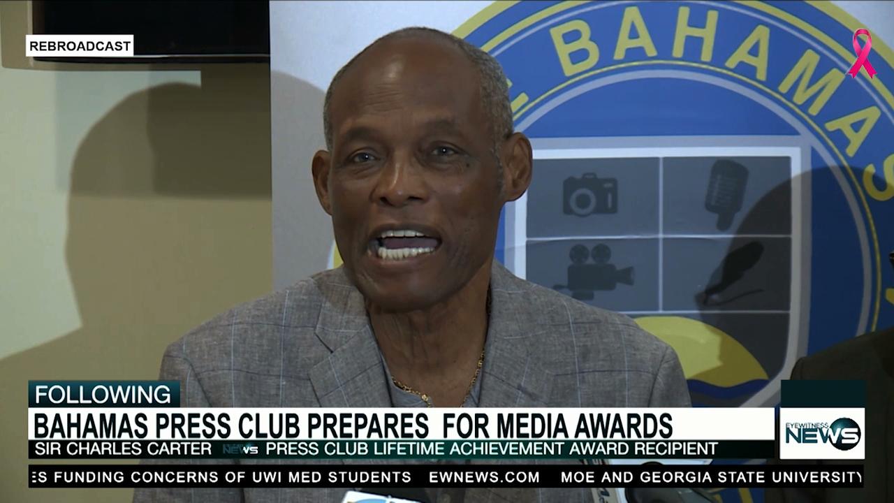 Charles Carter to receive top award at annual Press Club media awards