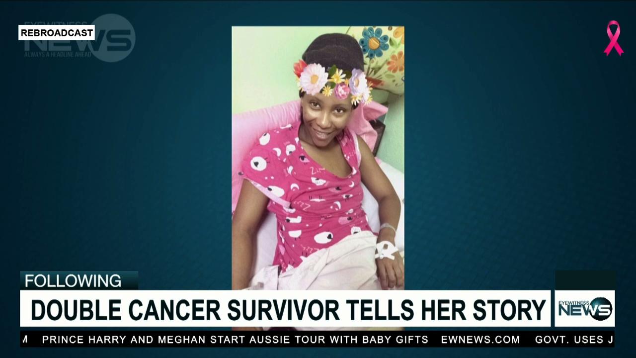 Survivor beats breast, cervical cancer