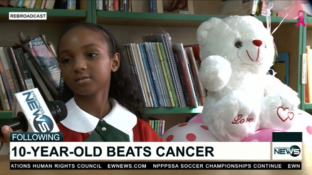 Saving grace for a 4-year-old cancer survivor