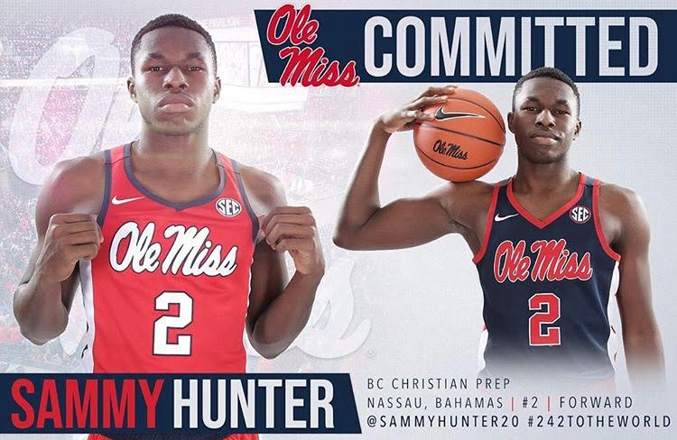 Hunter Commits to Ole Miss