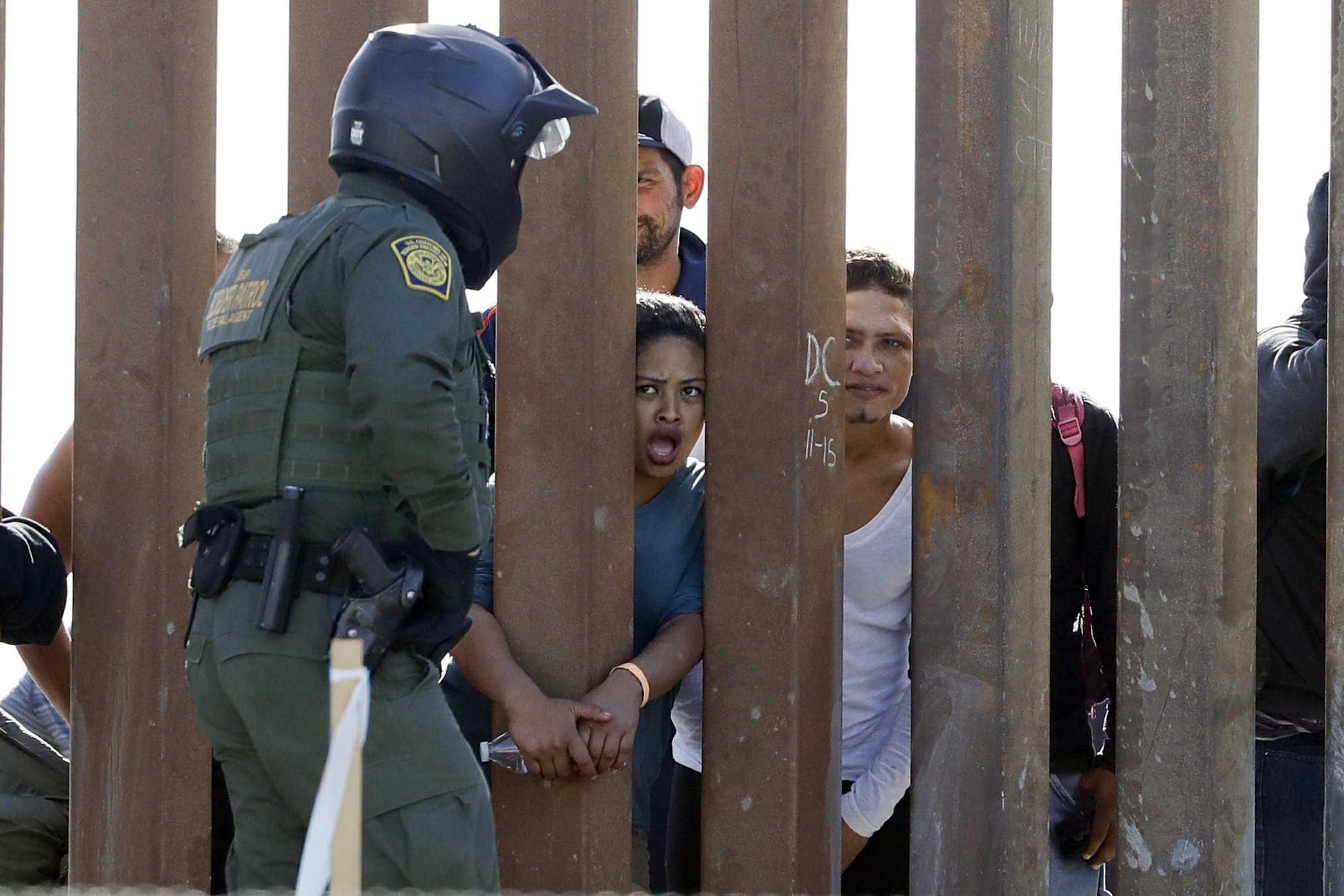 Clash with migrants spotlights force at the border