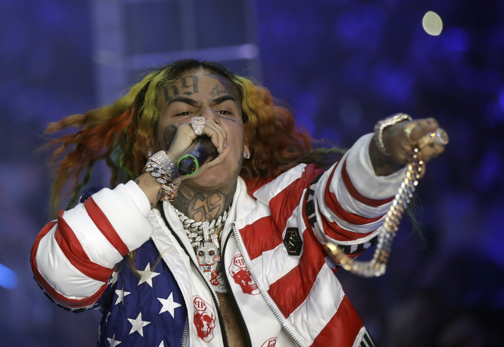 Brooklyn rapper 6ix9ine arrested on racketeering charges