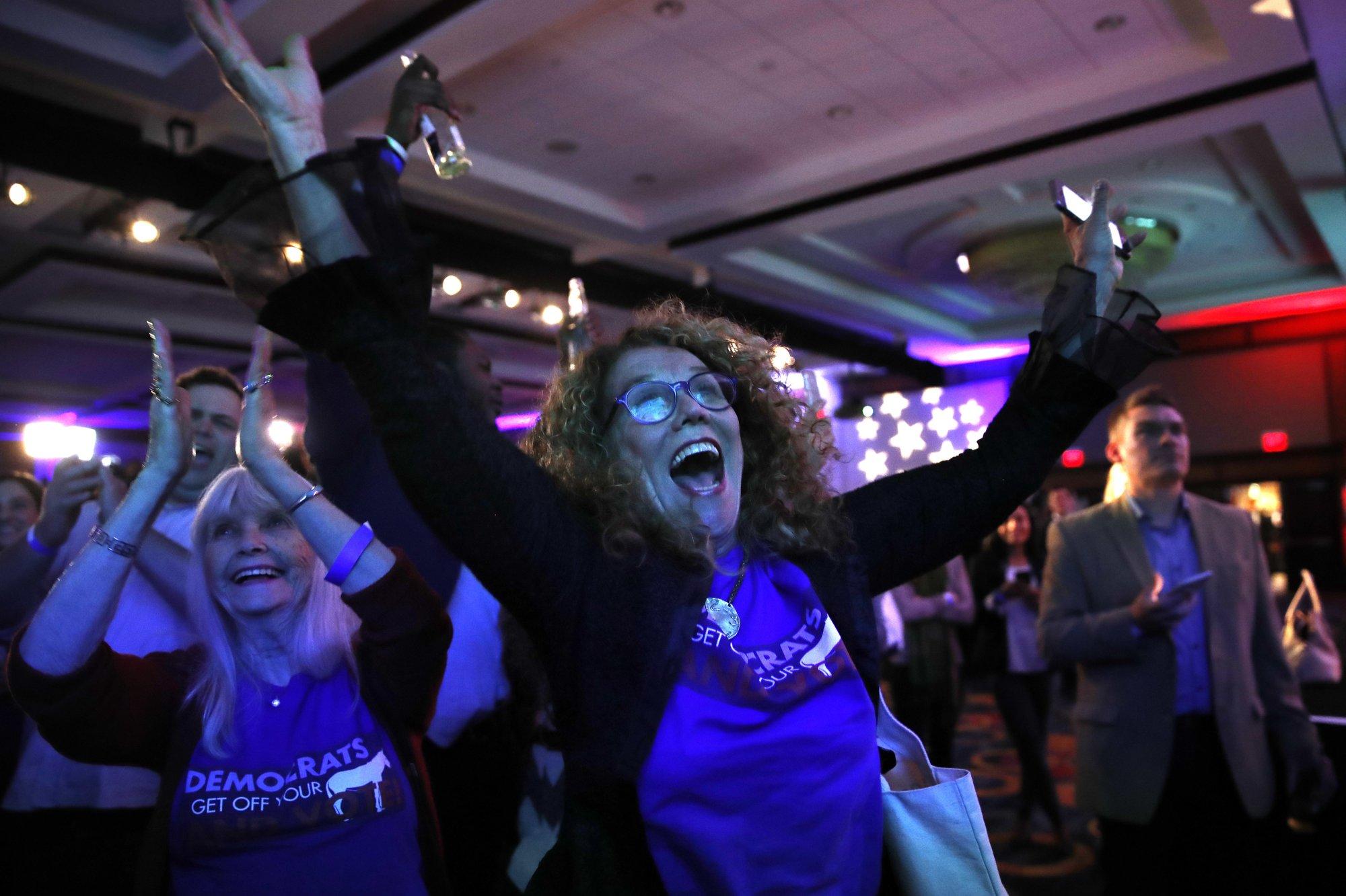Democrats seize House control, but Trump's GOP holds Senate