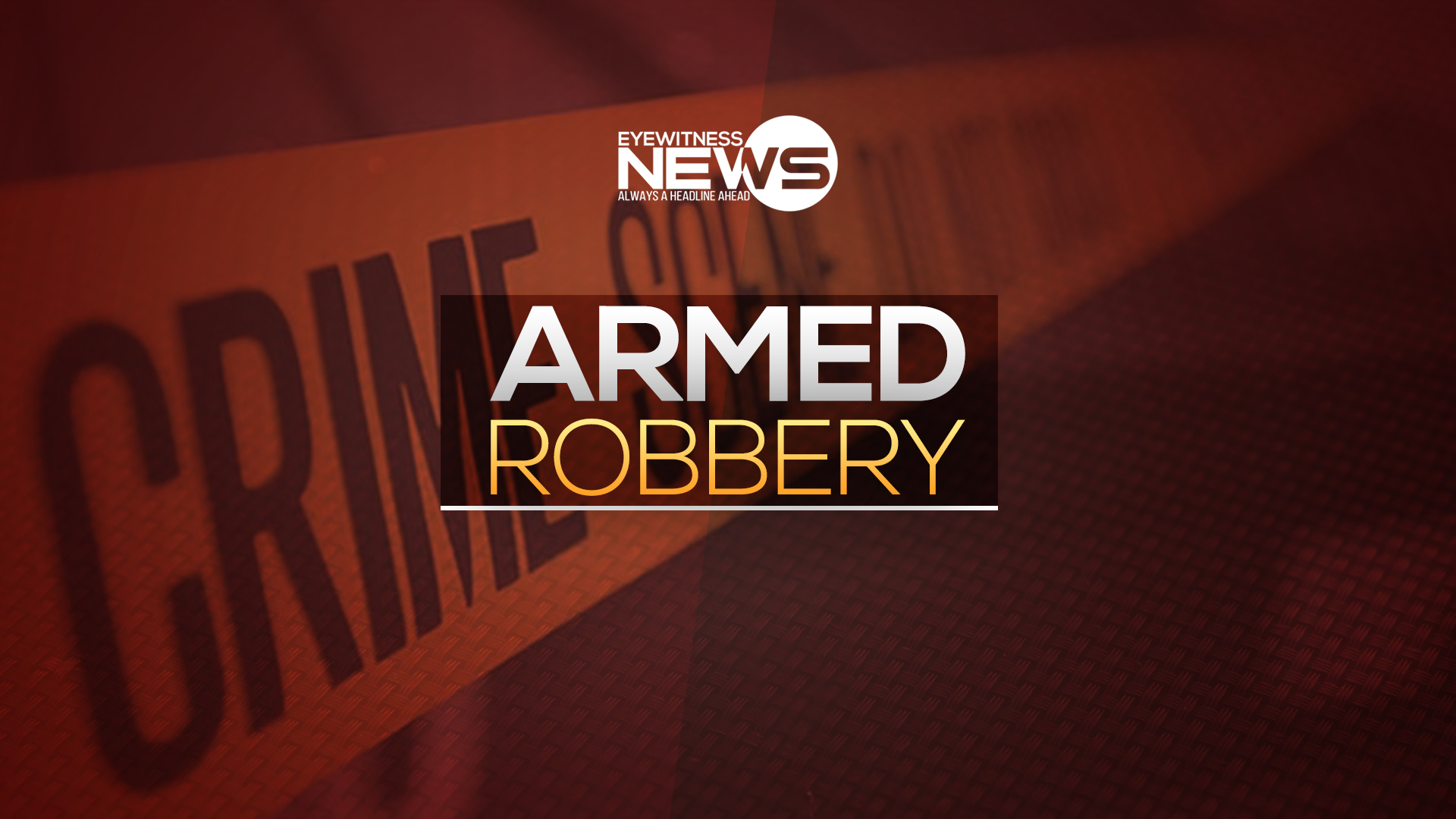 Police searching for armed robbers