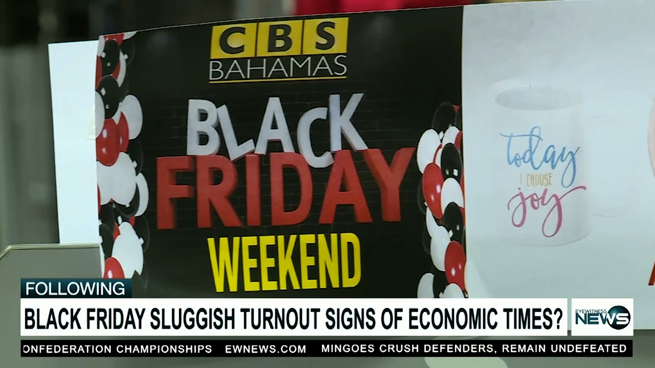 Local 'Black Friday' sales low in comparison to last year