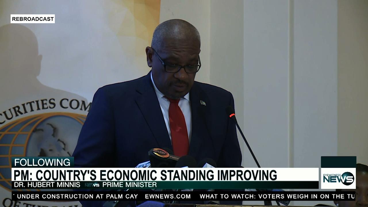 PM says economy turning around