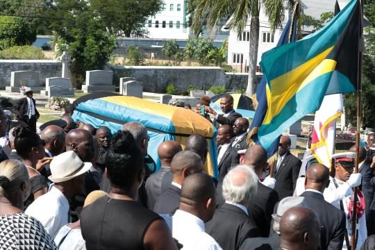 Bradley Roberts laid to rest