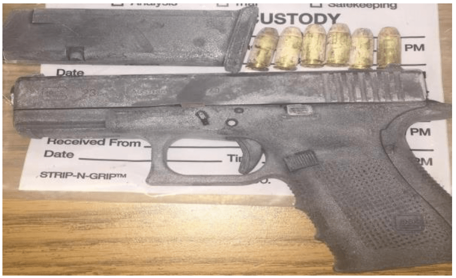 Dangerous drugs and illegal firearm recovered